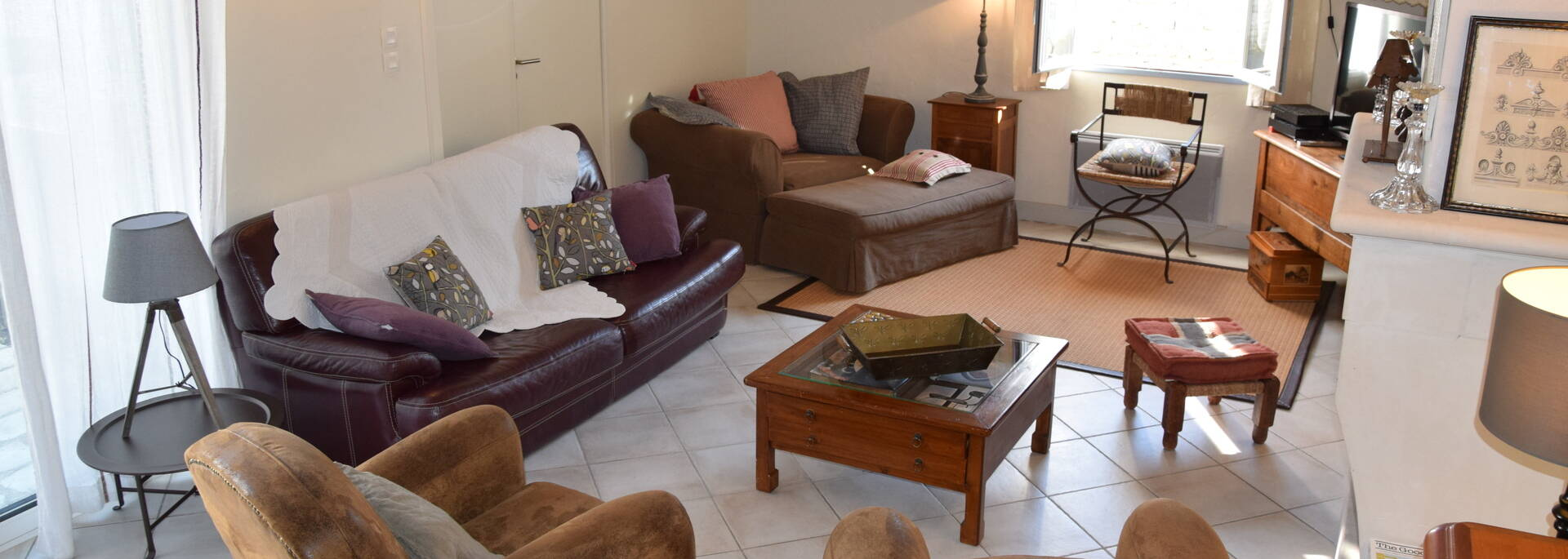 salon villa luxe ile de ré