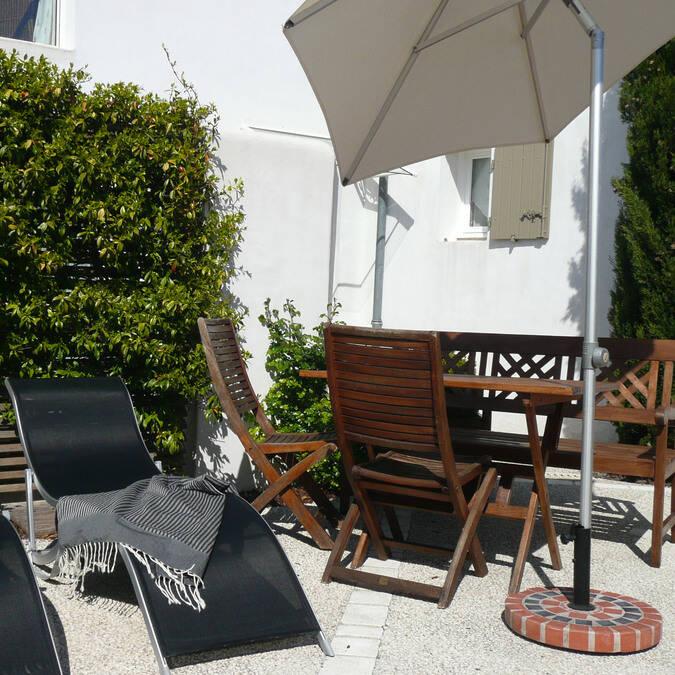 location maison vacances d'été sur l'île de ré à la résidence Andréa