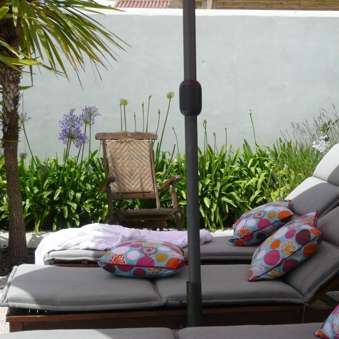 île de re location d'appartement avec terrasse et jardin