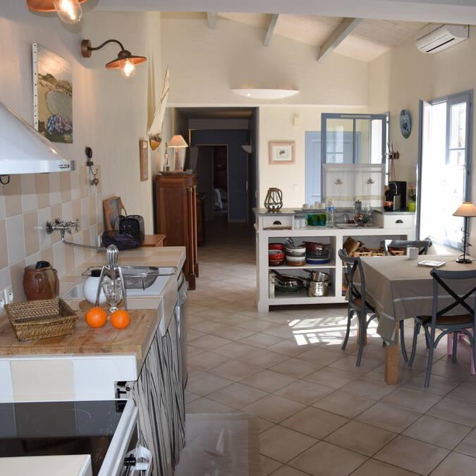 Ile de ré grande villa luxe résidence andréa location de maison avril et mai