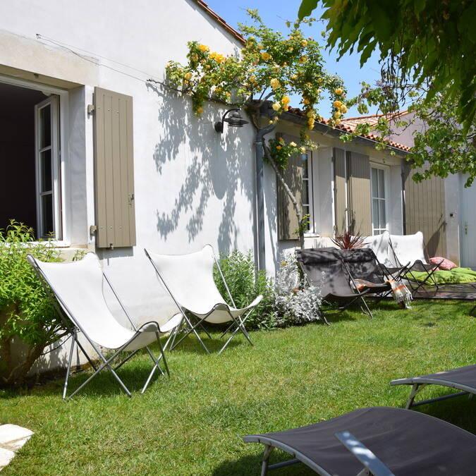 Ile de ré grande villa luxe 4 étoiles  résidence andréa