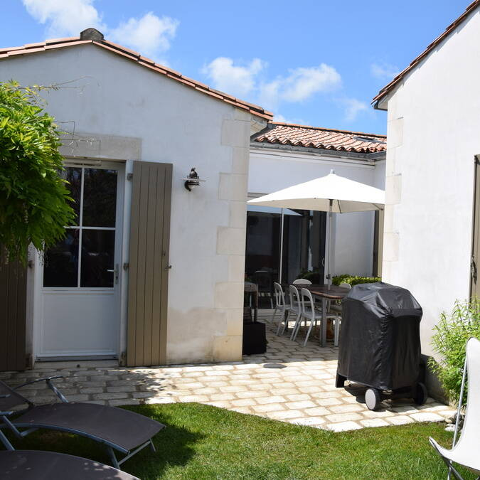 Ile de ré grande villa luxe résidence andréa location de vacances