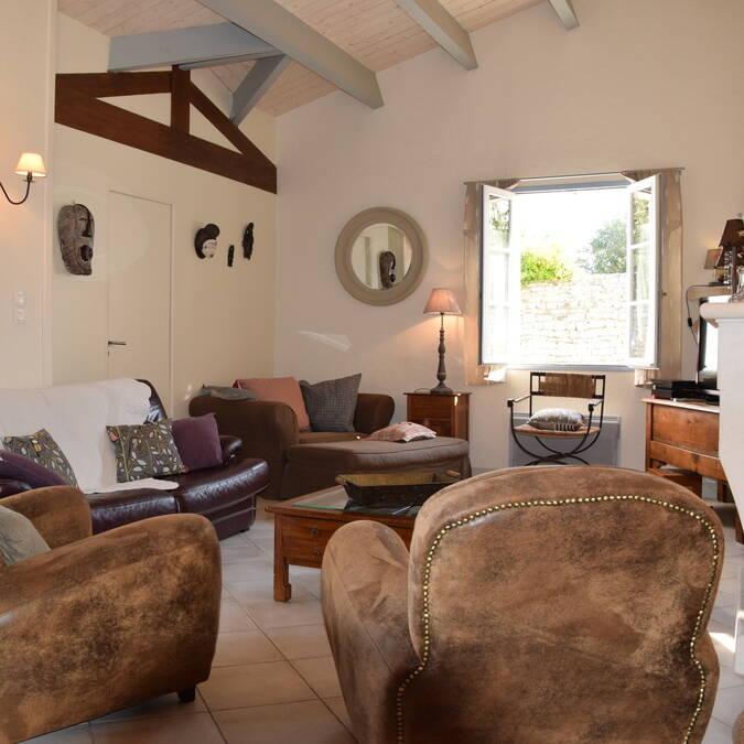 Ile de ré grande villa luxe résidence andréa location de maison printemps